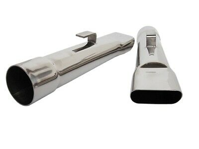 PG Classic 307-S25 Mopar A-Body 2-1/2 Inch Stainless Exhaust Tips