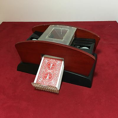 Double Deck Automatic Battery Operated Card Shuffler