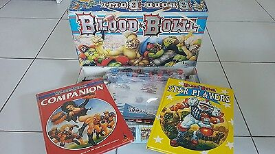 Blood Bowl - 2nd Edition (1986) + Books
