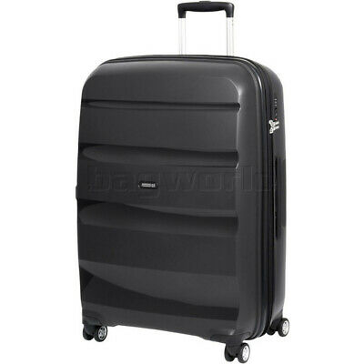 American Tourister Bon Air Deluxe Large 75cm Expandable Hardside Suitcase Black