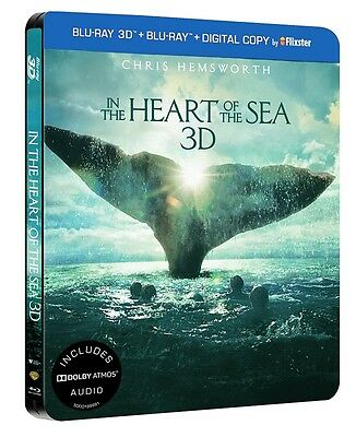 In The Heart Of The Sea (3D + 2D ) Steelbook
