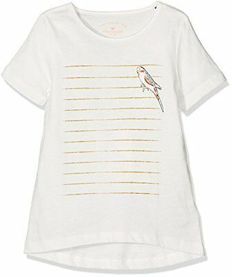Bianco 116 TOM TAILOR KIDS LONGSLEEVE WITH PRINT T-SHIRT BAMBINA (SOFT CLEAR