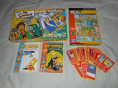 The Simpsons Board Game, The Simpsons Jigsaw, Top Trumps Simpsons Card, Comics