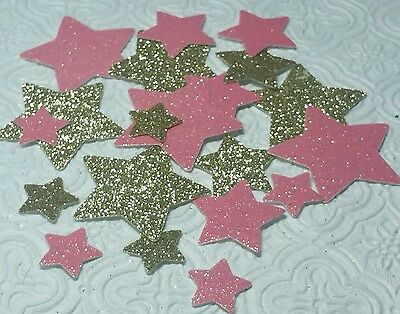 Twinkle Little Star confetti die cuts Card inserts birthday party baby shower