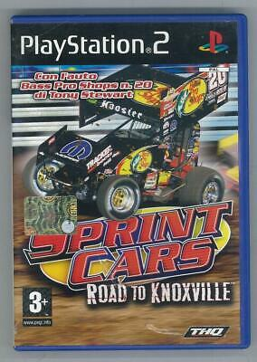 Sprint Cars Road To Knoxville Sony Ps2 Completo Ottimo Usato Pal