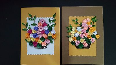 Handmade Paper Quilling Greeting Card Specialy for lovers tell your love.