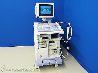 Aloka prosounda5sv Ultrasound Machine with 2 Probes