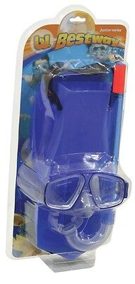 NEW Bestway Blue Snorkle Set from Mr Toys