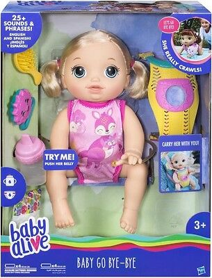 NEW Baby Alive Baby Go Bye-Bye from Mr Toys