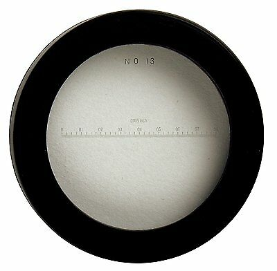 Mitutoyo 183-114 Reticle #13 for Pocket Comparator