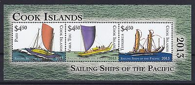 Cook Islands Block 238 (1834 - 1836) **, Segelschiffe / Sailing Ships (24 ME)