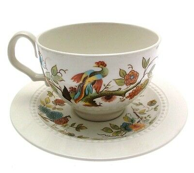 Vintage Collectable Royal Cauldon Bristol Ironstone Paradise Cup and Saucer Exc.