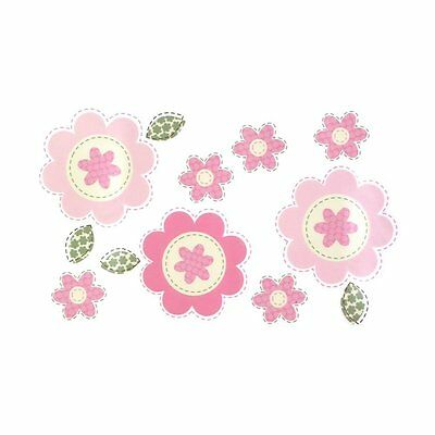 Sumersault Fiona Decals, Pink Discontinued by Manufacturer