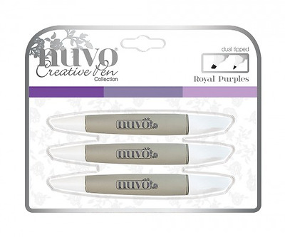 Tonic Studios Nuvo Pen Collection - Royal Purples