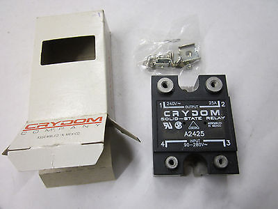 Crydom A2425 Solid State Relay 90-280VAC Input 240VAC 25A Output NEW