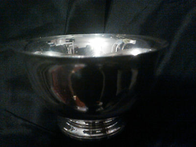"""Vintage Tiffany & Co. 23615 Sterling Silver 5"""" Footed Bowl"""