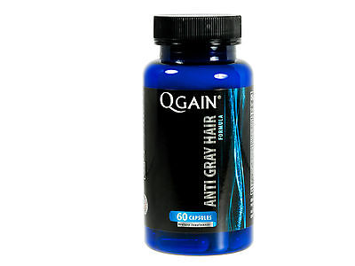 SALE  QGAIN Anti Gray Hair Formula 60 Capsules with Catalase