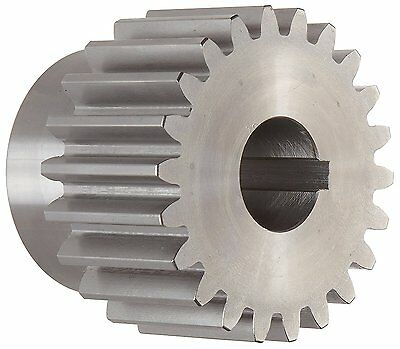 "Boston Gear YH221 Spur Gear, Steel, Inch, 8 Pitch, 1.000"" Bore, 3.000"" OD, Face"