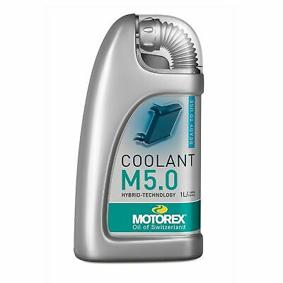 Motorex Motorcycle M5.0 Pre Mixed Engine Coolant 1 Litre