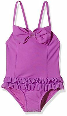 Purple 4-5 Anni ANGELS FACE ROMA BATHING SUIT NUOTO BAMBINA (MAGENTA) Nuovo