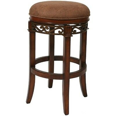 Pastel Furniture CR-215-30-MA-CS-654 Carmel Backless Barstool, 30-Inch, Murano A