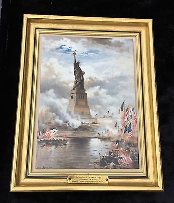 Bing & Grondahl Limited Edition Statue Of Liberty Plaque