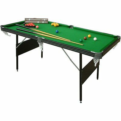 folding snooker/pool table with all accessories