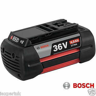 Bosch 36v 4.0ah Li-Ion Battery Pack 2607336915 NEW GBA36 UK EXPRESS DELIVERY