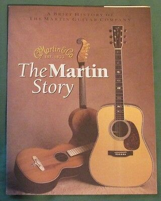1988 The Martin Story: A Brief History of The Martin Guitar Company