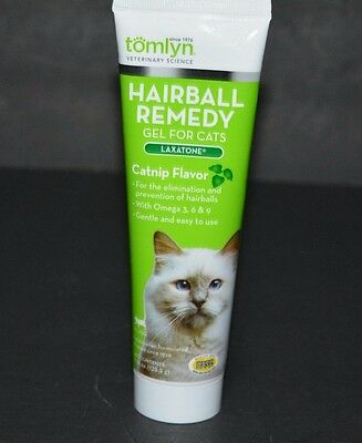 Hairball Remedy, Gel For Cats Laxatone, Catnip Flavor (4.25 Oz) For Cats Tomlyn