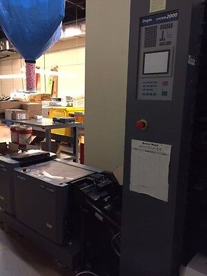 Duplo System 2000 with bookletmaker, suction-fed collator, lift unit, trimmer