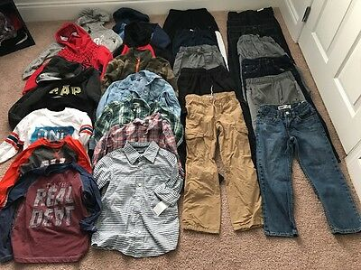Huge Lot Of Boys Winter Clothes-size 6