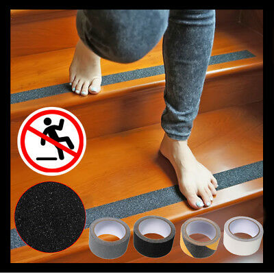 Floor Safety Non Skid Tape Roll Anti Slip Adhesive Stickers High Grip 1m 3m 5m
