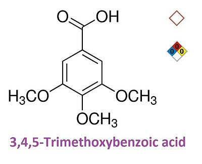 3,4,5-Trimethoxybenzoic acid, Gallic acid trimethyl ether, >99.0% - 30 g
