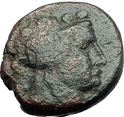 MARONEIA in Thrace 148BC Authentic Ancient Greek Coin - DIONYSUS WINE GOD i61873