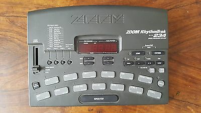 Zoom RhythmTrak 234 Drum Machine with Drums/ Percussion/ SFX/ Bass