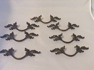 "Lot 7 French Provincial Drawer Handles 2 3/4"" Centers Shabby Chic Dresser Pulls"