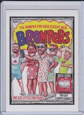 Topps GPK Network Spews: 72 Wacky Packages: Brompers