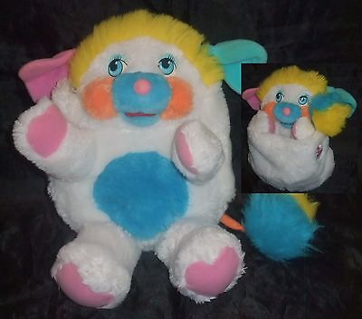 PELUCHE VINTAGE COLLECTION  POPPLES PUFFBALL ANNÉES 80's