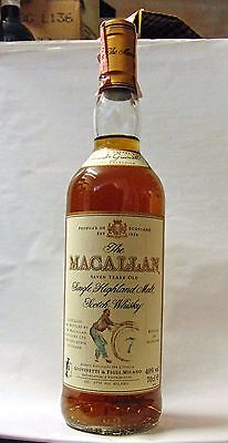 Whisky The Macallan 7 Years Single Highland Malt Scotch Whisky