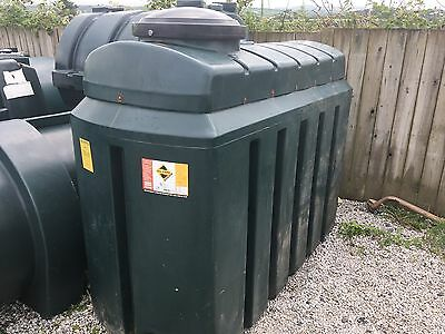 Bunded Oil Storage Tank 1200 Litres Slim