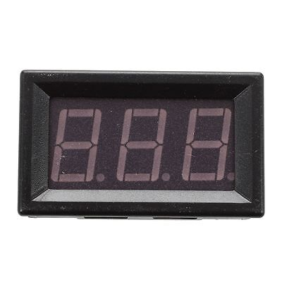 SS Digital DC Ammeter 10A Blue LED Panel Amp Meter Digital Electricity Meter