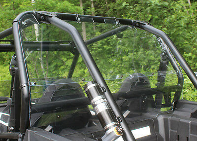 2890-PZ10 Polaris RZR 900 & XP 1000 rear tinted windshield