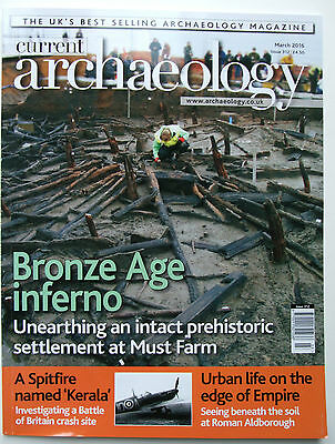 Current Archaeology Magazine Issue 312 March 2016 UK History bronze age Roman