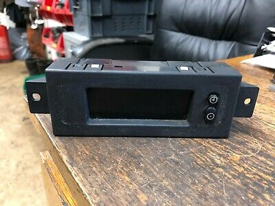 lcd time clock radio display trafic vivaro movano interstar renault master
