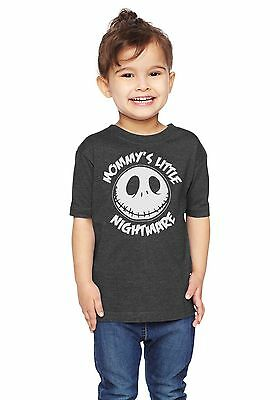 Mommys Little Nightmare The Nightmare Before Christmas Unisex Toddler T-Shirt