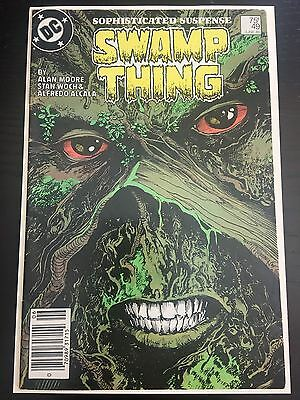 Swamp Thing (1982 2nd Series) #49 VF Very Fine DC Comics Newsstand
