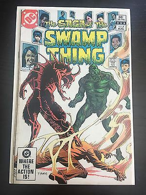 Swamp Thing (1982 2nd Series) #4 VF Very Fine DC Comics