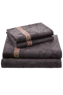 Natori Fretwork Dragon fitted Sheet Queen, King or Cal-king