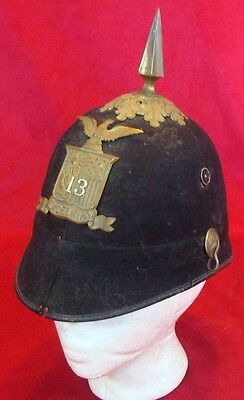 Post Civil War 1870s New York 13n Excelsior Brigade Shako Cap/Hat